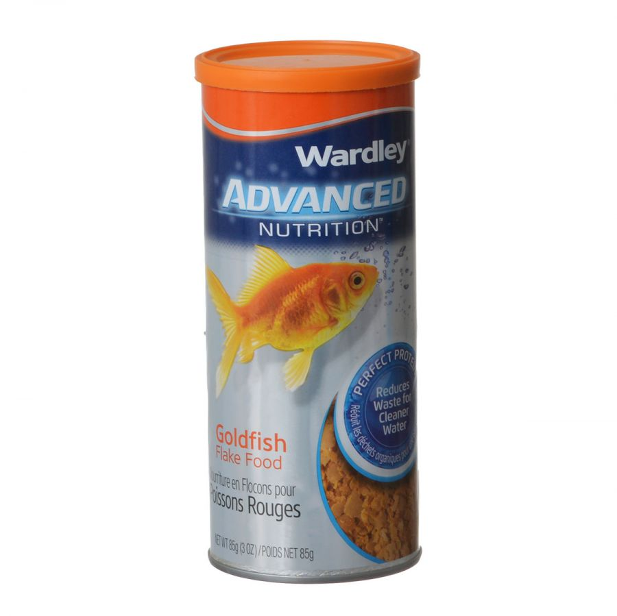 Wardley Advanced Nutrition Goldfish Flake Food 3 oz
