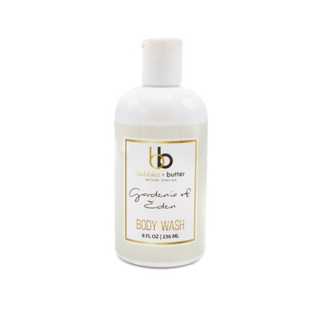 Bubbles and Butter Artisan Skincare - Gardenia of Eden Body Wash