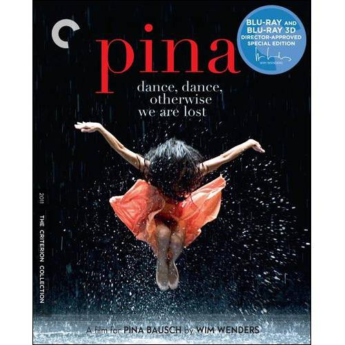 Pina (Blu-ray 3D   Blu-ray) (Criterion Collection)