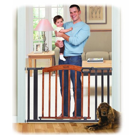 Summer Infant Decorative Wood Amp Metal 5 Foot Expansion