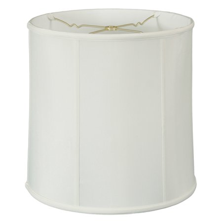 Royal Designs Basic Drum Lamp Shade - White - 15 x 16 x 16 - BS-719-16WH