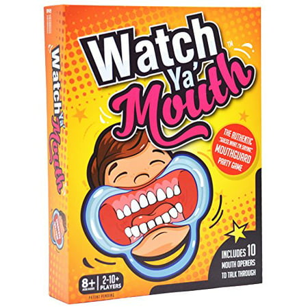 Watch Ya' Mouth Family Edition - The Authentic, Hilarious, Mouthguard Party Game](Classroom Halloween Party Games 5th Grade)