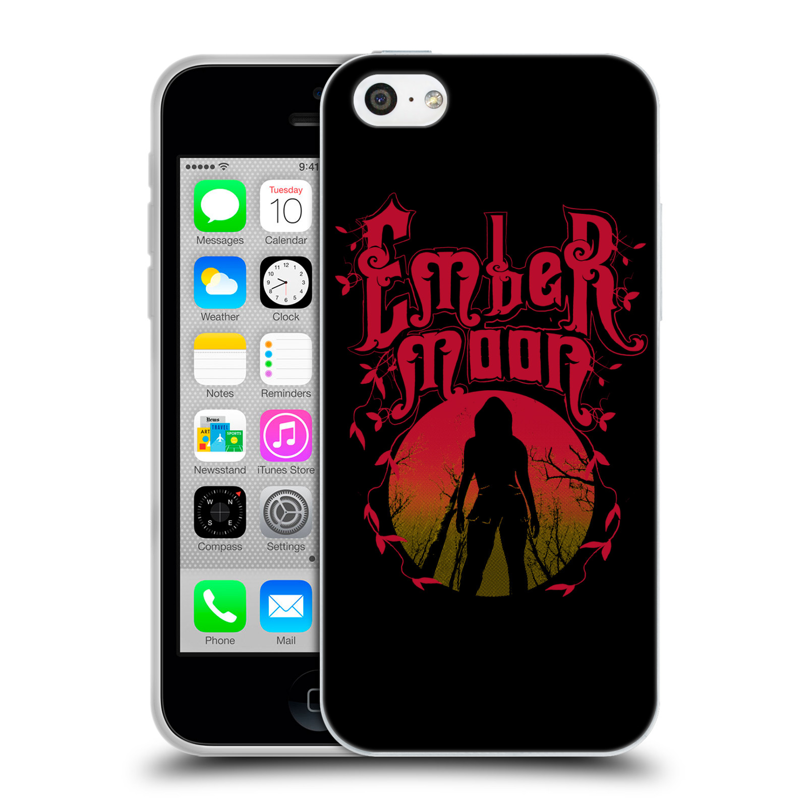 OFFICIAL WWE EMBER MOON SOFT GEL CASE FOR APPLE IPHONE PHONES