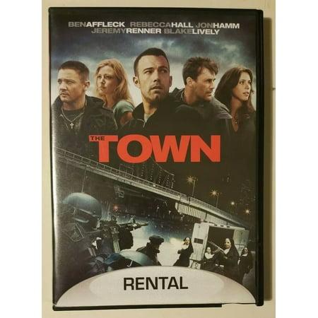 The Town DVD ex- rental Widescreen Ben Affleck Rebecca Hall John (Town Center Plaza Stores)