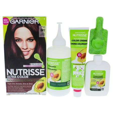Nutrisse Nourishing Color Creme - BR2 Dark Intense Burgundy by Garnier for Unisex - 1 Application Hair Color - image 1 of 1