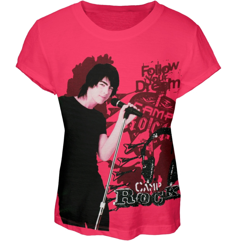 Camp Rock - Shane Headphones Girls Youth T-Shirt