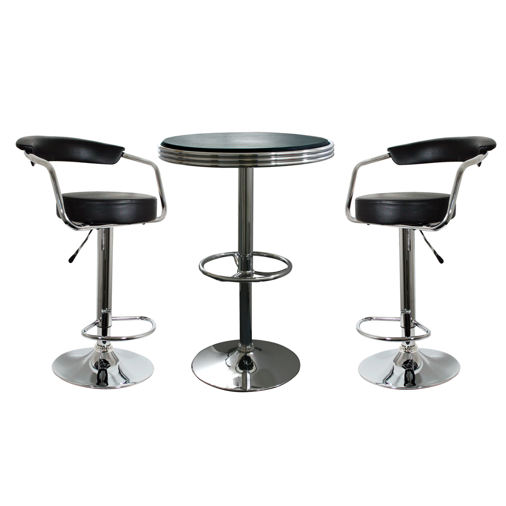 Buffalo Tools AmeriHome 3 Piece Pub Table Set
