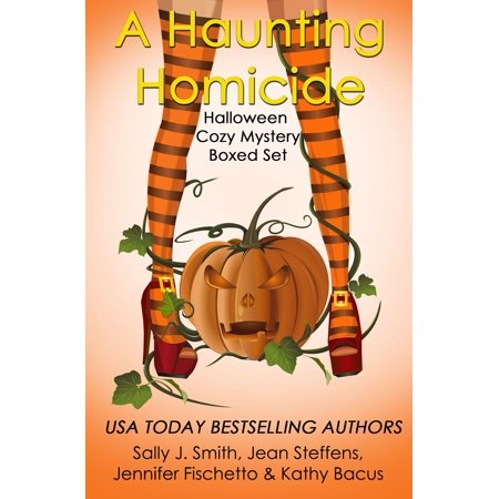 A Haunting Homicide: Halloween Cozy Mystery Boxed Set -