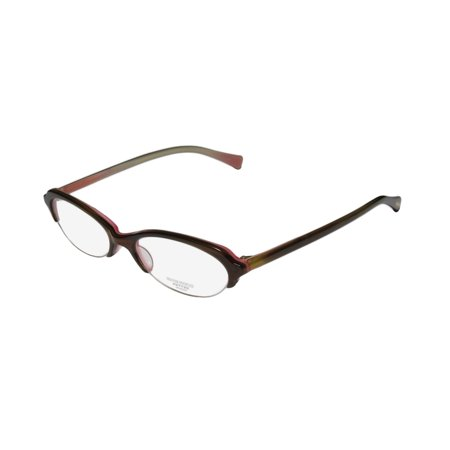 236cb1c42a3 New Oliver Peoples Lorelei Womens Ladies Cat Eye Half-Rim Olive Brown Trendy  Casual Cat Eyes Frame Demo Lenses 50-17-140 Eyeglasses Eye Glasses -  Walmart. ...