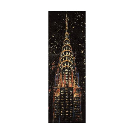 Cities at Night II Print Wall Art By Jim Wellington - Party City Wellington