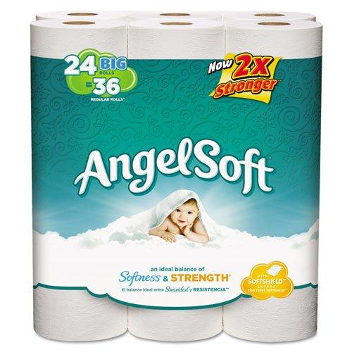 Georgia Pacific Bath Tissue, 2-Ply, 250 Sheets/Roll, 24/Pack 75239