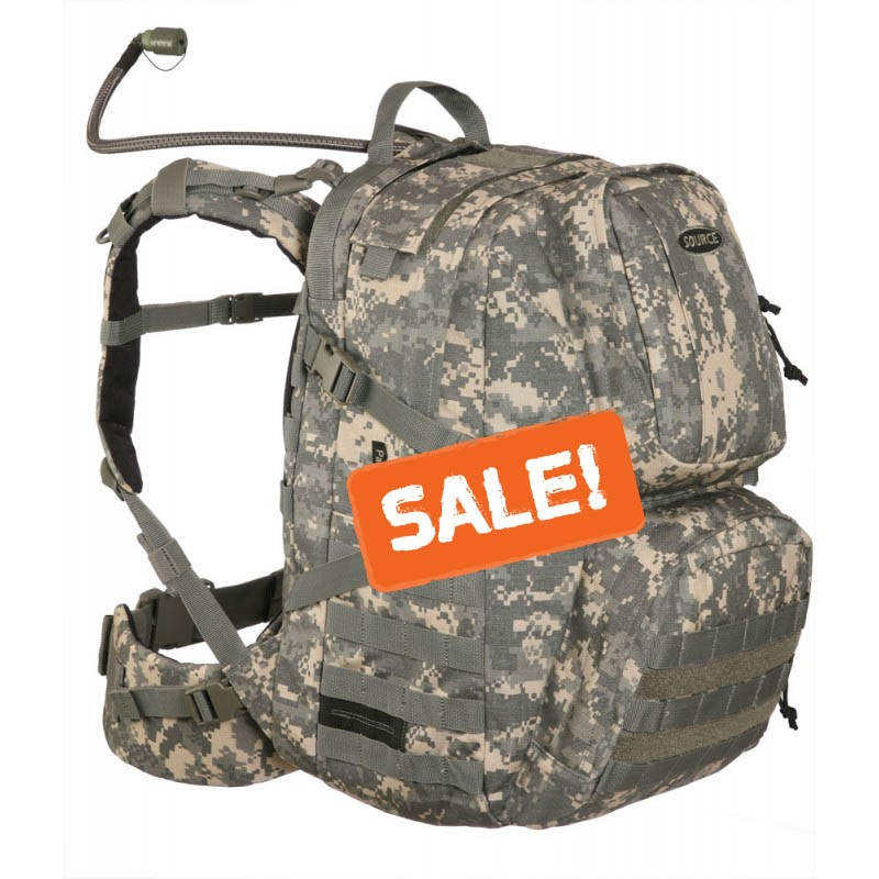 Source Patrol US 30 Hydration Cargo ACU Pack 3 Litter Bladder by