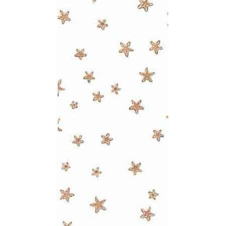 Gold Stars Cello Bags - Food & Party Favor Treat Bags -12ct - Party Mini Cello Bags