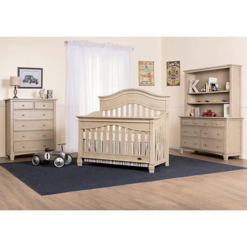 Evolur Cheyenne 5-in-1 Convertible Crib, Choose Your Finish by Evolur