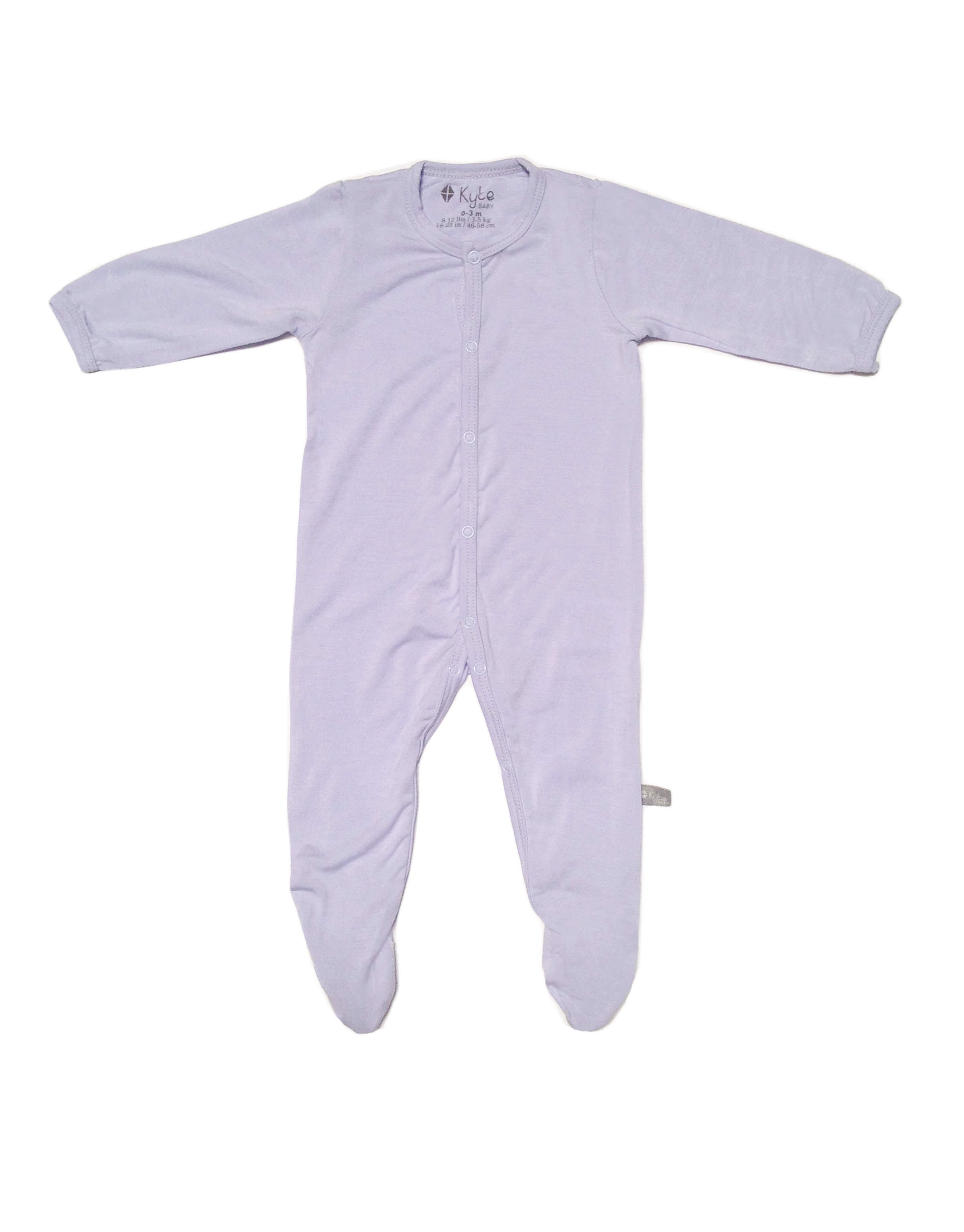 Footie in Lilac (6-12mo)