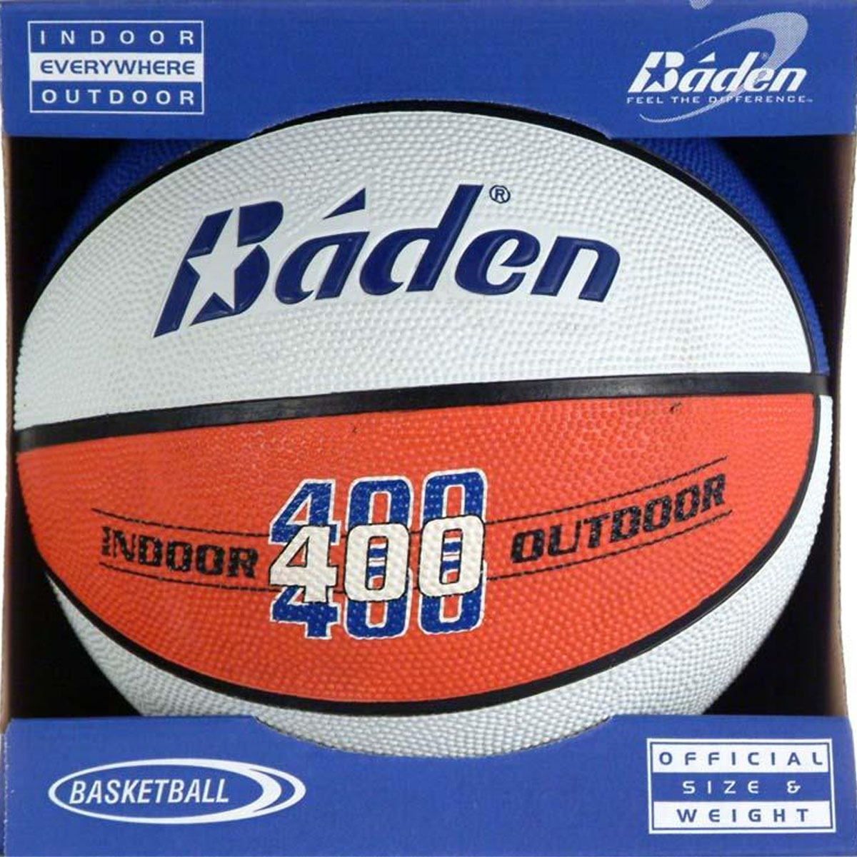 Baden Sports Inc. Baden Official Rubber Basketball Red, White & Blue BR7-3004A by Baden Sports Inc.