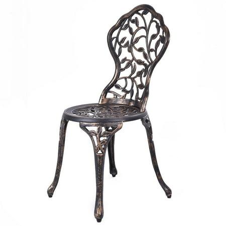 COSTWAY Ensemble de Jardin 1 Table et 2 Chaises d\'Exterieur en ...