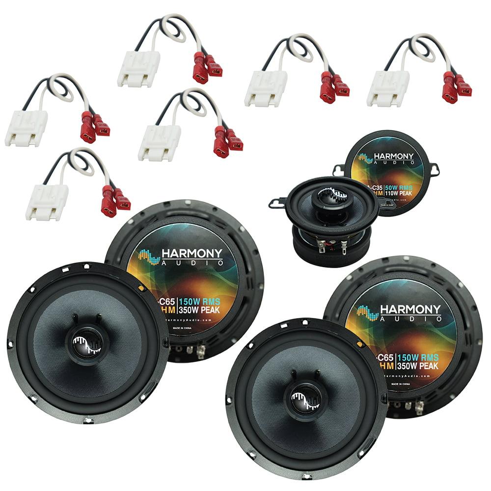 Fits Jeep Grand Cherokee 1993-1995 OEM Premium Speaker Replacement Harmony Upgrade Kit by Harmony Audio