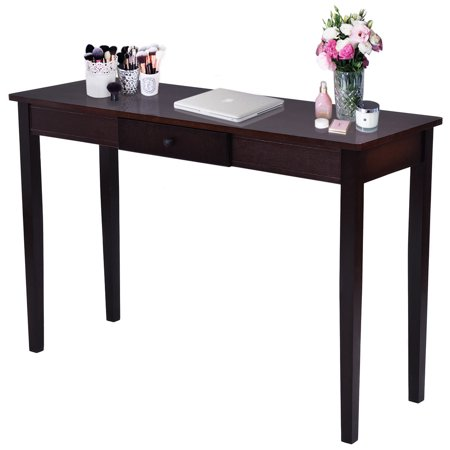 Costway Console Table Entry Hallway Entryway Side Sofa Accent Drawer Wood