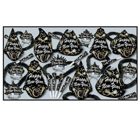 New Year Tymes New Year's Eve Party Kit for 50 People - Party City New Years Decorations