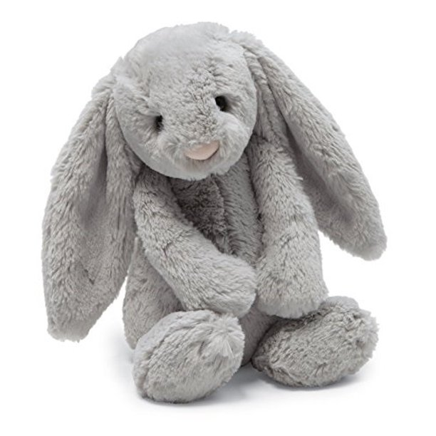 jellycat bashful grey bunny, small - 7 inches - Walmart.com - Walmart.com