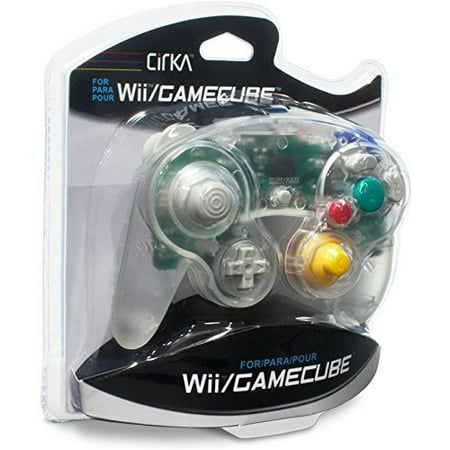 CirKa Controller - Clear for Nintendo Wii and GameCube