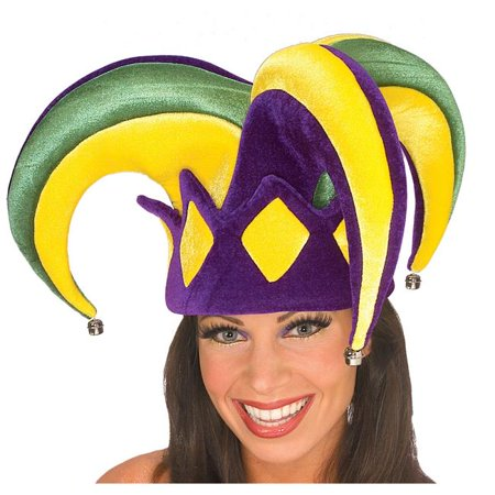 Jester Hats Wholesale (Mardi Gras Royal Jester Hat)