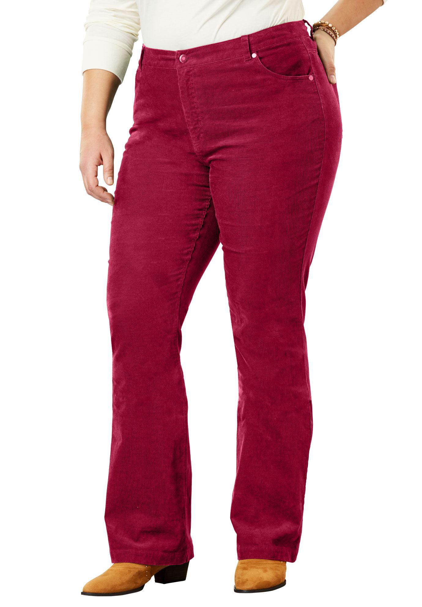 Plus Size Tall Stretch Corduroy Bootcut Jean