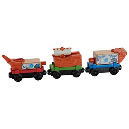 Fisher-Price Thomas & Friends Wooden Railway, Pirate Ship Delivery Train Set