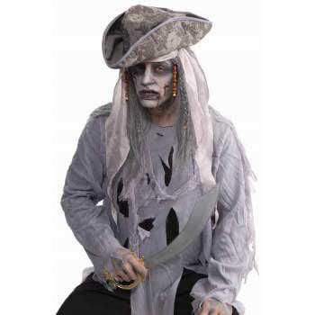 ZOMBIE PIRATE WIG - Zombie Wig