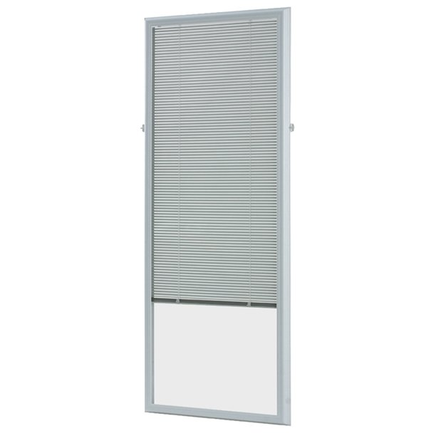 decorative windows for bathrooms frosted vinyl for.htm odl 22  x 64  add on blinds white walmart com walmart com  odl 22  x 64  add on blinds white