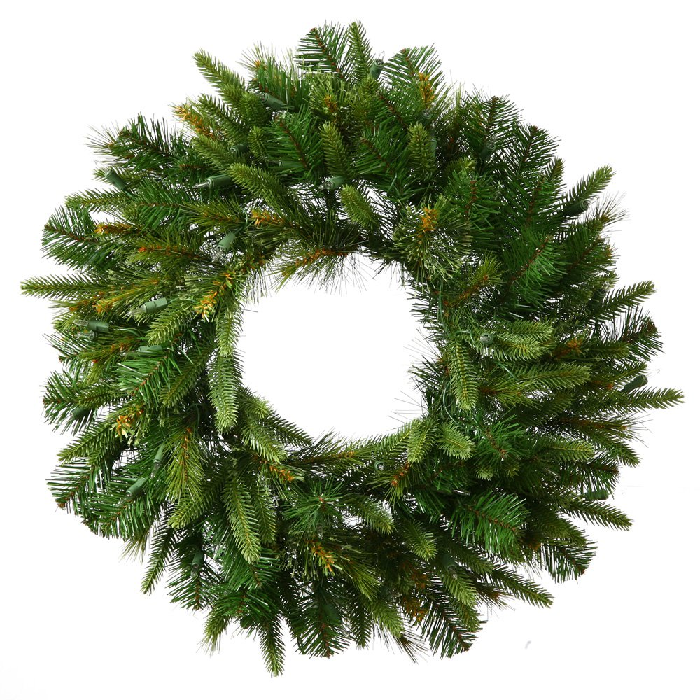 24 in. Cashmere Unlit Christmas Wreath