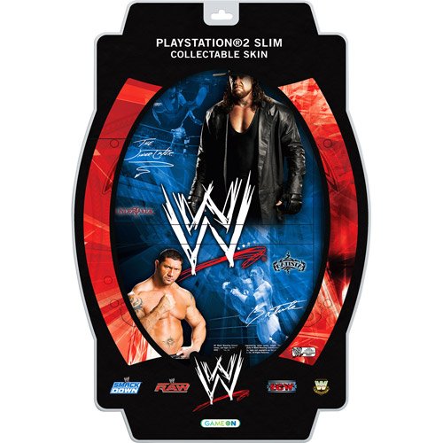 WWE Batista and Undertaker Skin for PS2 (PS2)