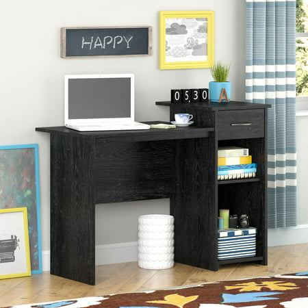Mainstays Student Desk, Black Oak