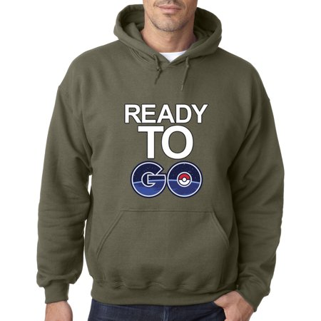 1075 - Hoodie Ready To Go Pokemon Game Sweatshirt](Pokemon Hoody)