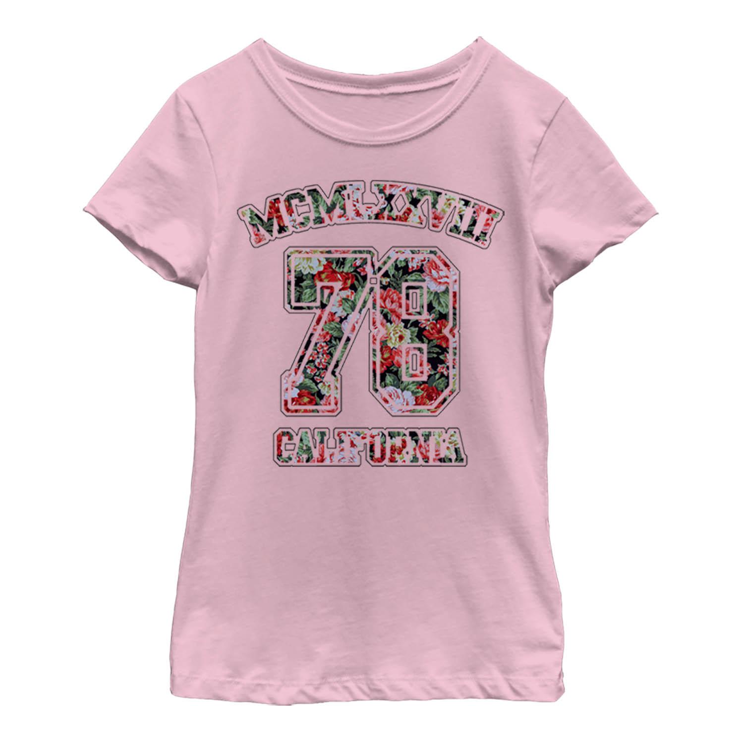 Girls' California Floral 78 T-Shirt
