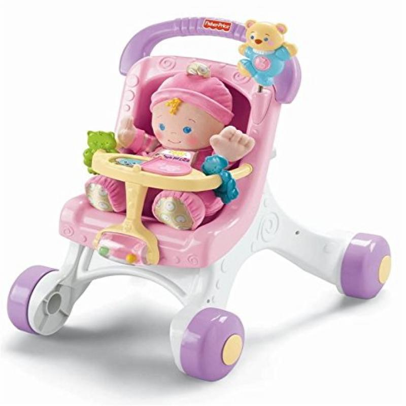 Fisher Price Stroll Along Walker by Fisher-Price