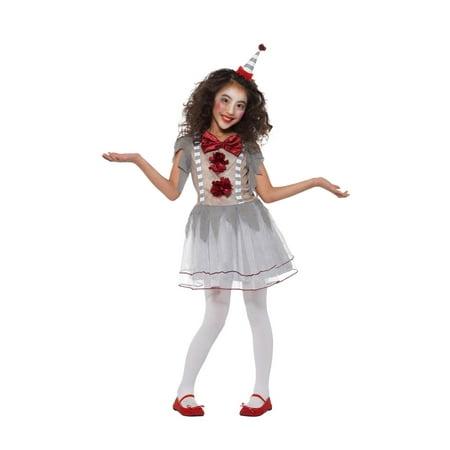 Toddler Clown Costume Girl (Girl's Vintage Clown Costume)
