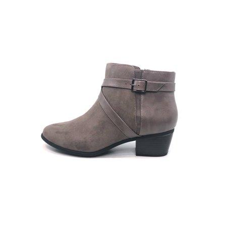 Karen Scott Womens Falonn Closed Toe Ankle Fashion Boots ()