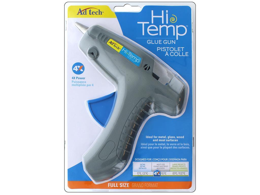adtech hi temp full-size hot glue gun - walmart