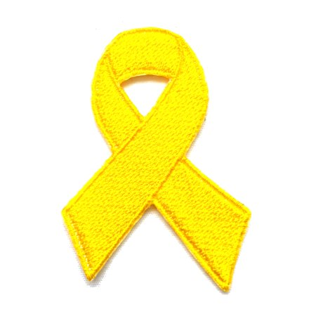 Awareness Ribbon Bladder/Liver/Bone cancer Awareness Support our Troops POW/MIA Embroidered Sew/Iron On Patch 2.5