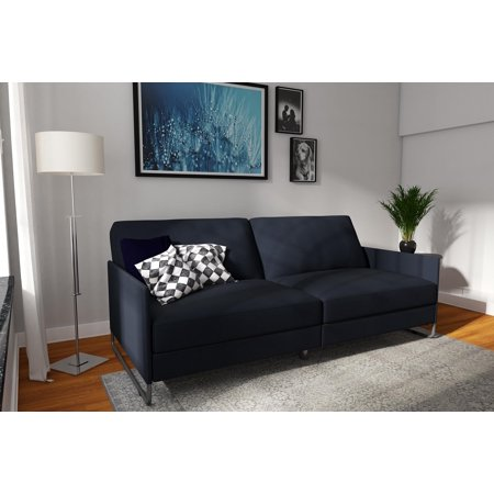 DHP Pembroke Convertible Futon Couch, Multiple Colors