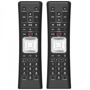 Set of TWO Comcast Xr5 Rf Remote Control X1 w/ Backlight - Version V4-rIncludes Installed batteries By Xfinity