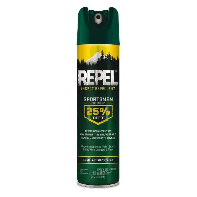 Repel Insect Repellent Sportsmen Formula 25% DEET Aerosol, 6.5-oz