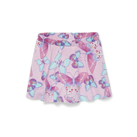 Printed Knit Skort (Baby Girls & Toddler Girls) (Print Border Skort)
