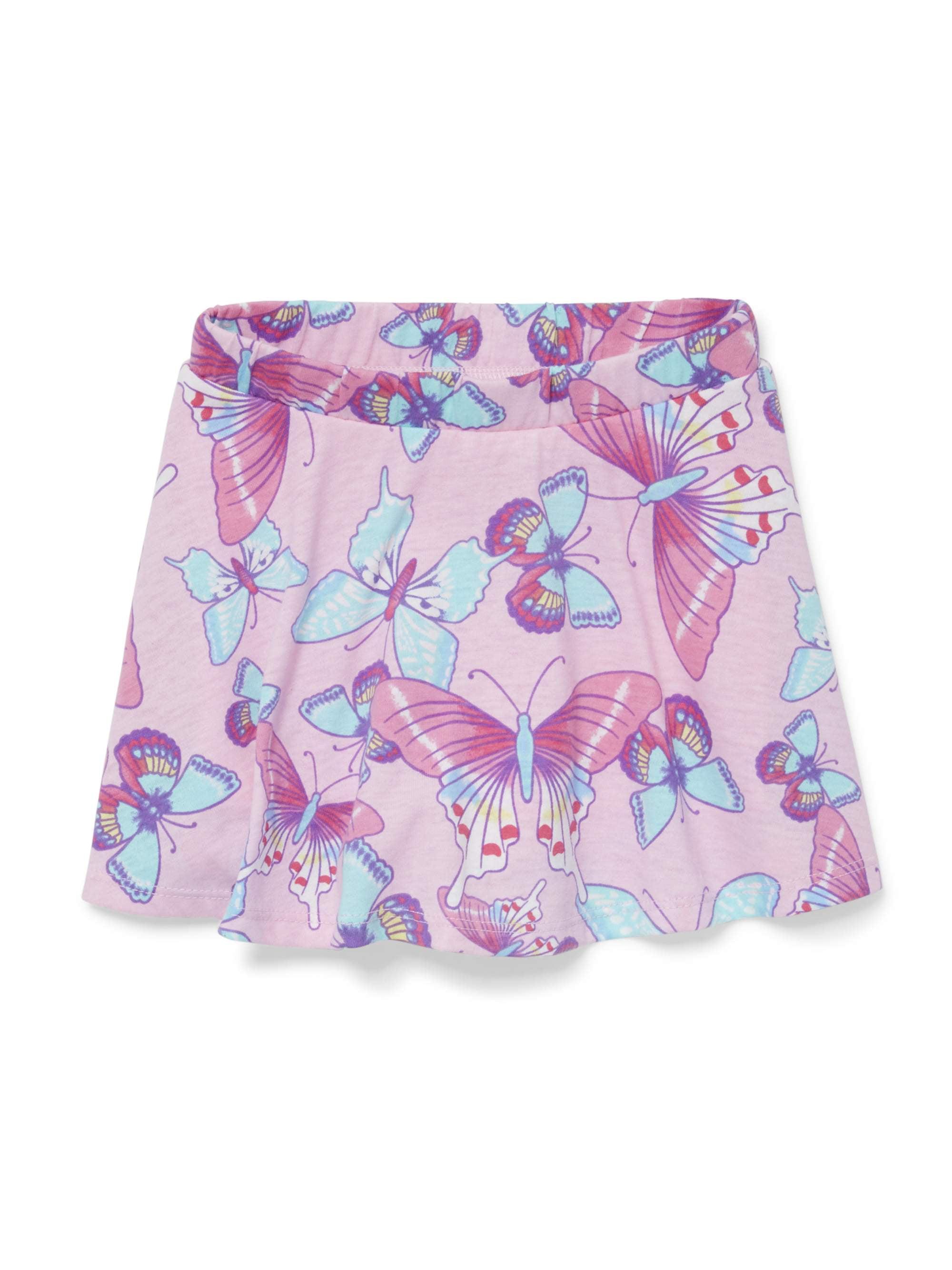 Printed Knit Skort (Baby Girls & Toddler Girls)