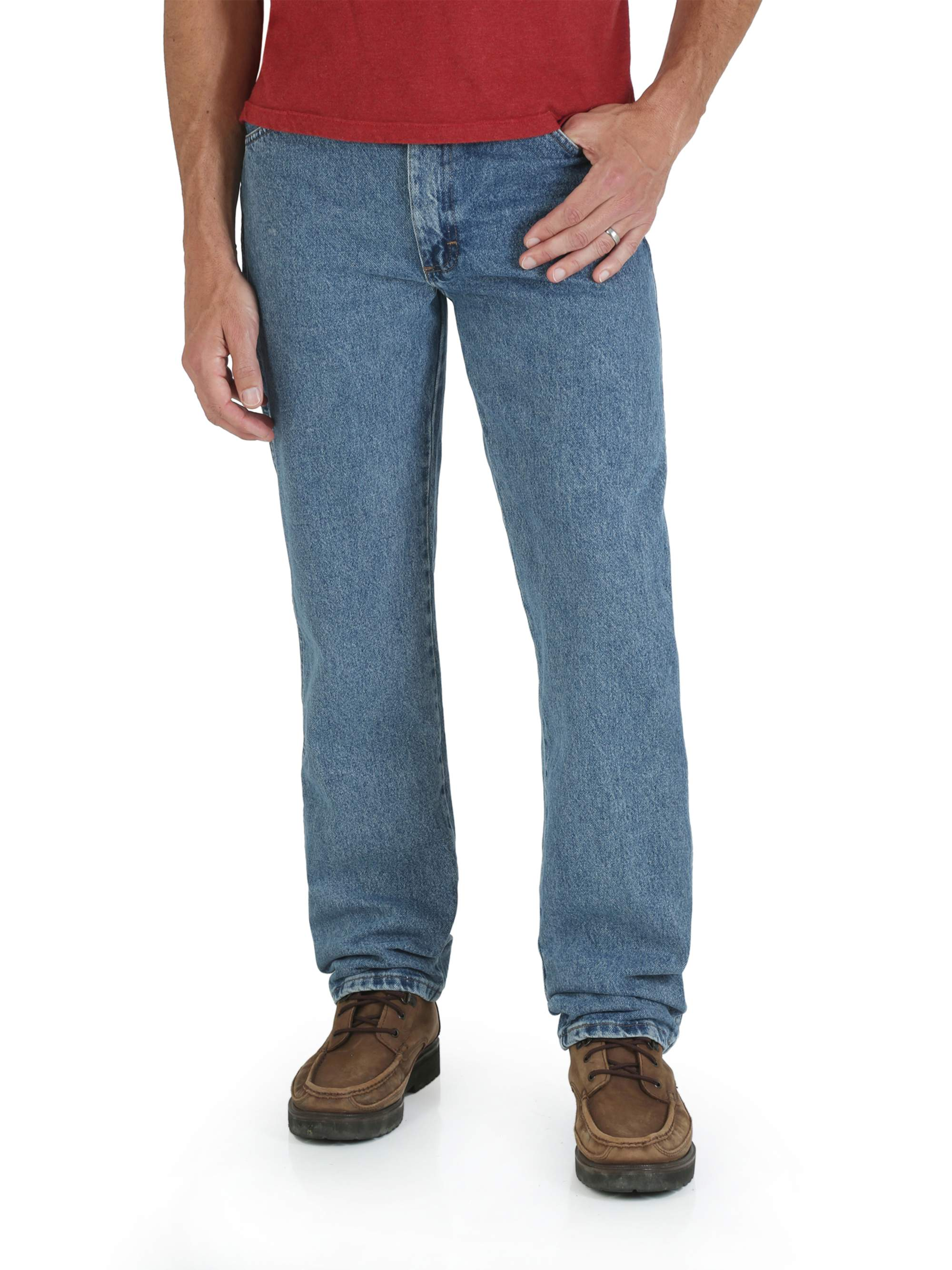 e730cfc8 Rustler - Big Men's Regular Fit Straight-Leg Jeans - Walmart.com