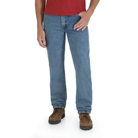 Rustler Big Men's Regular Fit Straight Leg Jeans