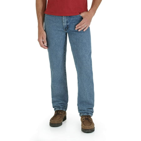 Big Men's Regular Fit Straight-Leg Jeans 5 Pocket Raw Denim