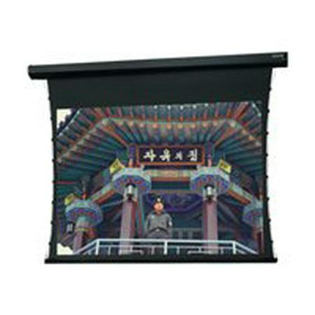 Da-Lite Tensioned Cosmopolitan Electrol Video Format - Projection screen - motorized - 120 V - rear - 120 in ( 305 cm ) - 1.33:1 - Da-Mat - black